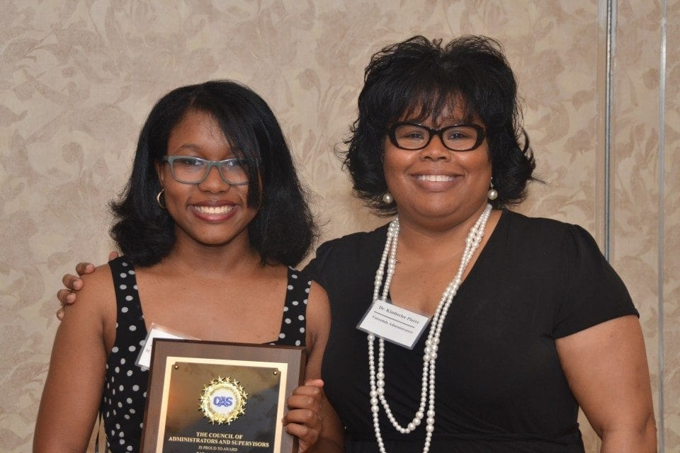 Nia with Mom
